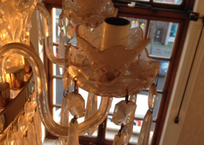 D10 Waterford Crystal Chandelier